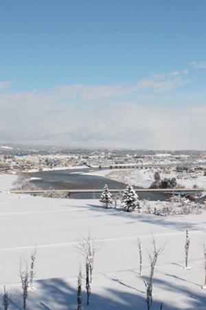 20160216雪景色‐2