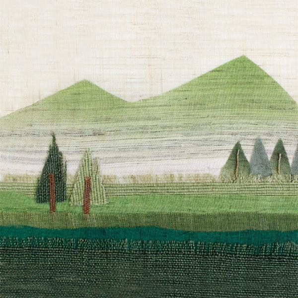 山口明子の布絵作品